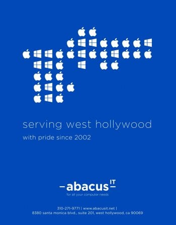 Abacus IT Serving West Hollywood with pride since 2002.